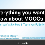 everything you want to know about moocs